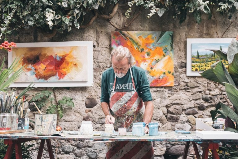 Read more about the article Every Painting that a painter makes is like a magic